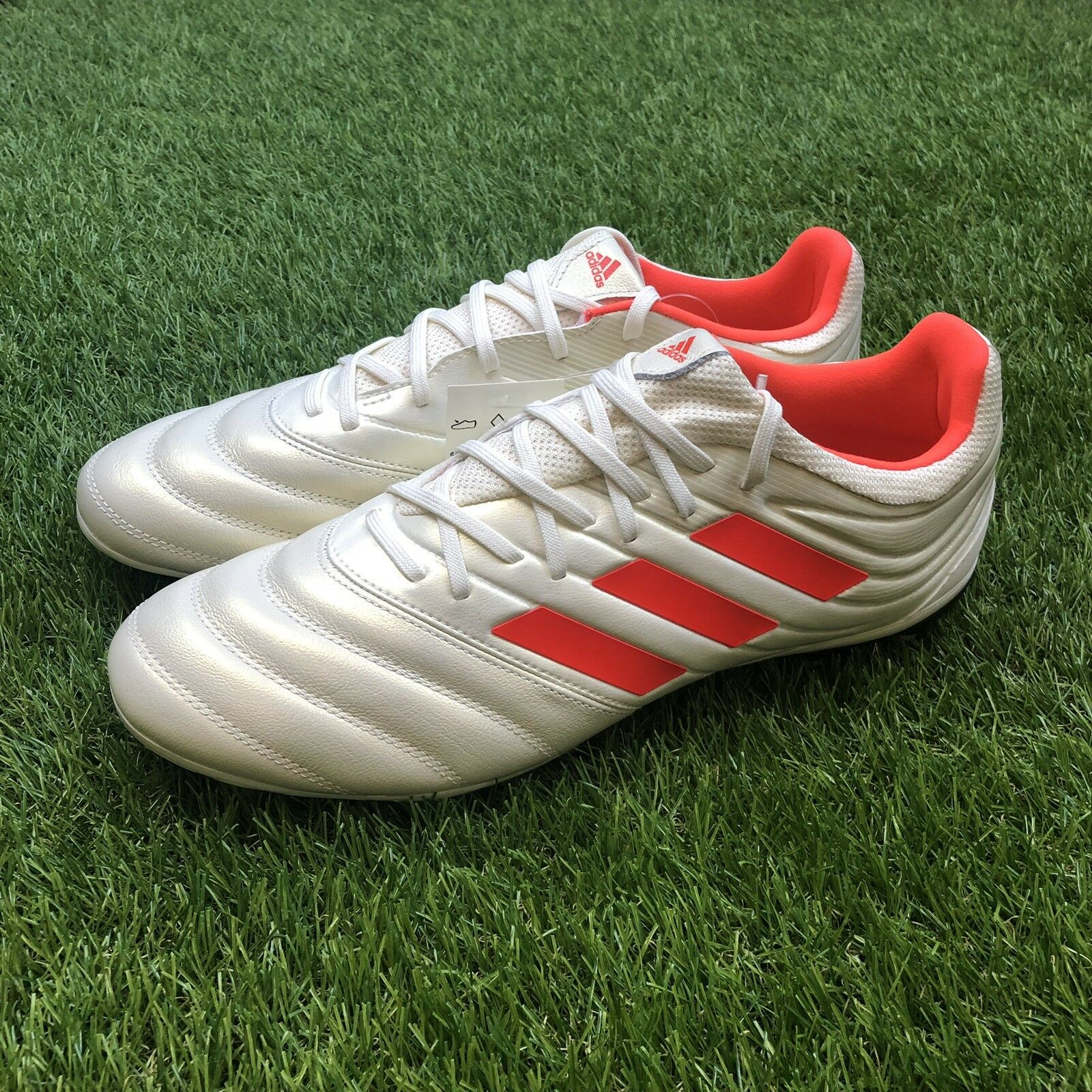 2c113f448 New Adidas Copa Copa Copa 19.3 FG Size 9 Firm Ground Soccer Cleats shoes  White BB9187 ed603d