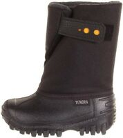 Snow Boots Tundra Winter Boots Infant/toddler Boys Black Little Boys Size 7
