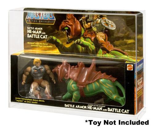 MOTU He-Man and BattleCat/ Skeletor and Panthor 2-Pack Acrylic Display Case