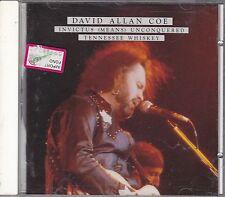 DAVID ALLAN COE - invictus unconquered / tennessee whiskey CD