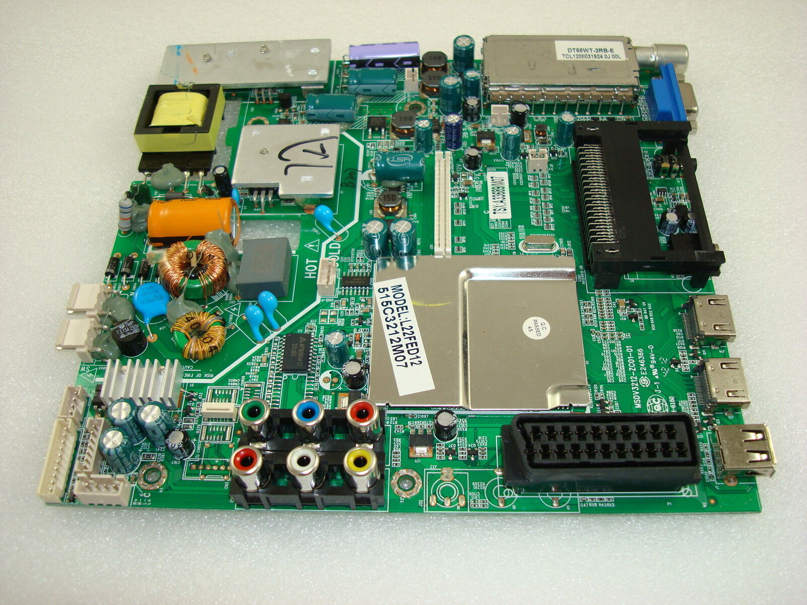 Logik L22fed12 Power Supply Main Av Pcb Msdv3212 Zc01 01 As Well Samsung Tv Circuit Board Schematic Also Philips Norton Secured Powered By Verisign
