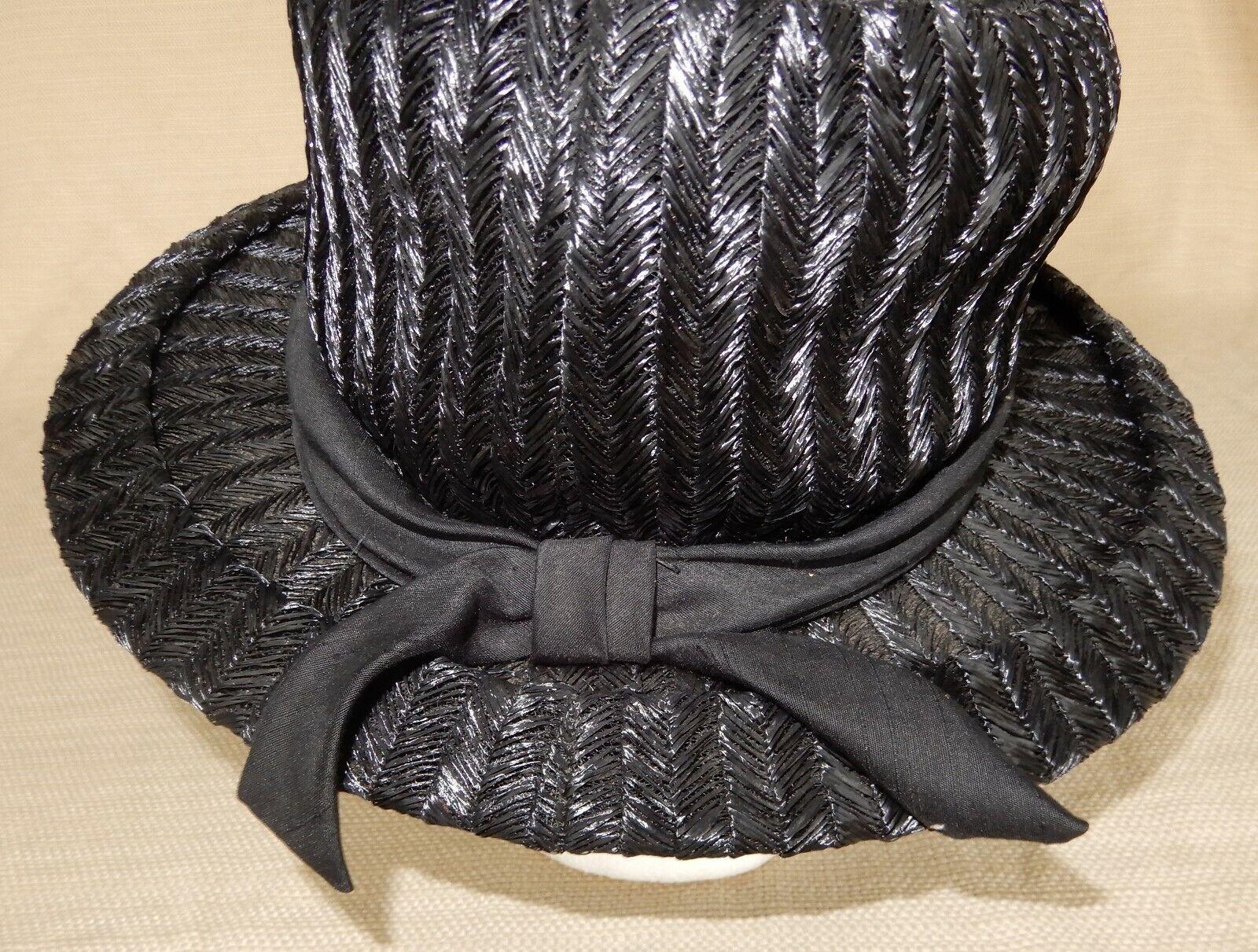 Vintage Exclusives by Renee black cellophane stra… - image 5
