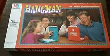 Vintage Hangman The Original Word Guessing Game Incomplete for Parts 1988 MB
