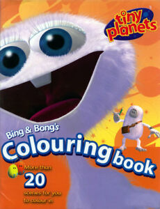 Details about Tiny Planets coloring book RARE UNUSED