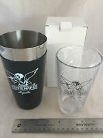 Gran Centenario Tequila Cocktail Shaker And Glass Set Stainless Steel Heavy