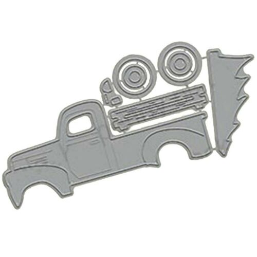 Truck Metal Cutting Dies Stencil Scrapbooking Album Paper Card DIY Craft