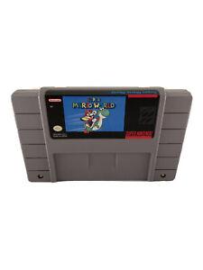 ⭐️ Original Made in Japan 1992 Super Mario World SNES Super Nintendo Game 🎏