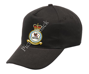 RAF 3 SQUADRON CREST PRINTED ON A BASEBALL CAP ONE SIZE WITH ADJUSTABLE STRAP