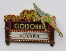 DISNEY WDW TRADE CITY USA 2010 TINKER BELL CLOISONNE THEATRE MARQUEE LE 750 PIN