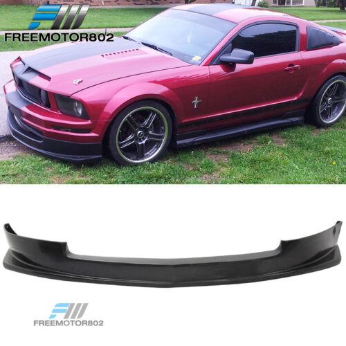 FOR 05 06 07 08 09 Ford Mustang V6 PU Front Bumper Lip Spoiler Bodykit