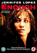 Enough Dvd Jennifer Lopez Brand New & Factory Sealed