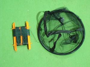 11.5 In (environ 29.21 Cm) Crabe Drop Net Avec Beaucoup De Ligne-afficher Le Titre D'origine