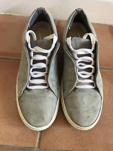 ladies grey suede trainers