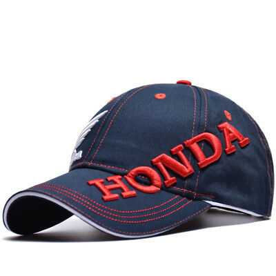 honda cap motorcycle logo baseball black blue hat moto. Black Bedroom Furniture Sets. Home Design Ideas