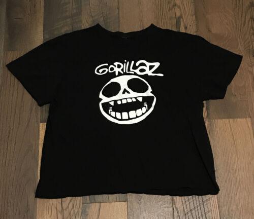 Vintage GORILLAZ PHASE 1 T Shirt XRay Skull Graphi