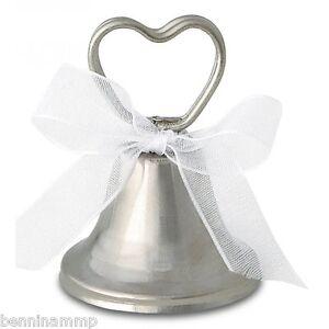 Segnaposto Matrimonio Roma.24 Campanelle Tirabaci Segnaposto Matrimonio Segnatavola