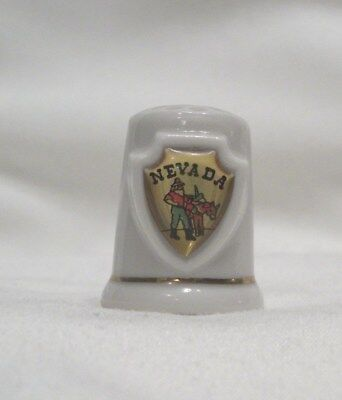Montana State Souvenir Collectible Lpco Thimble