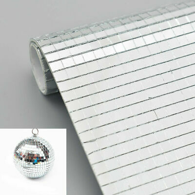 900 Ruisita 900 Pieces Self-Adhesive Mini Square Glass Mirrors Mosaic Tiles Mirror Mosaic Stickers for DIY Craft Decoration 1 x 1 cm
