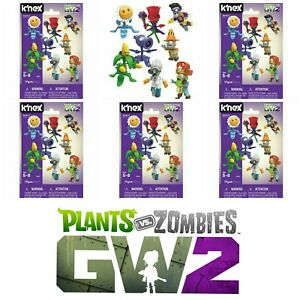 Knex-Plants-Vs-Zombies-Series-5-FIVE-Blind-Bag-Mystery-Buildable-Figure-NEW