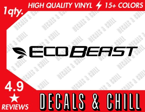 Eco Beast Decal Sticker Ford Eco Boost RS ST Focus F150 Raptor
