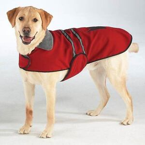 Casual-Canine-Reflective-Dog-Jackets-Coats-XS-S-M-L-XL-XXL-Red-Blue-Green