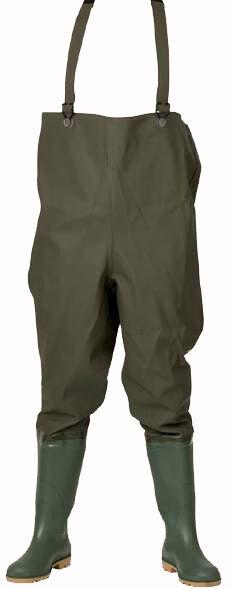 Elka Wathose Wathose Wathose Schuh-Gr. 36-49 50 Qualitätsprodukt Wathosen Hose mit Stiefel  | Guter weltweiter Ruf  4e4105