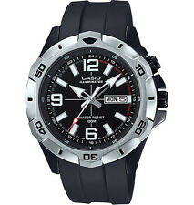 Casio Men's Black Resin Watch, Date, 100 Meter, Super Illuminator,  MTD1082-1AV