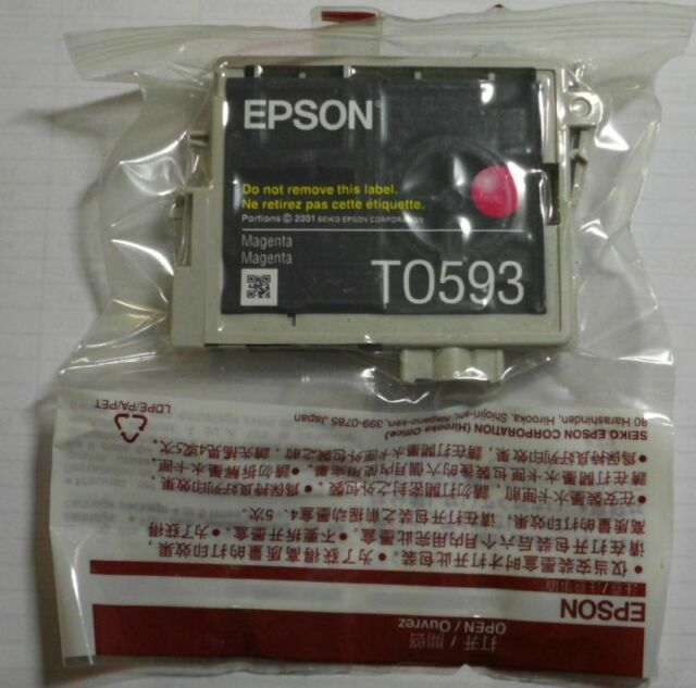 Epson T0593 Tinte magenta  für Stylus Photo R2400 C13T05934010  D