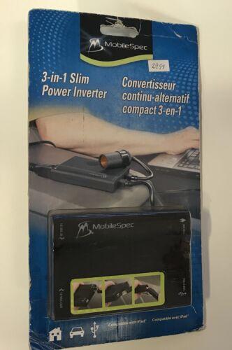 MobileSpec 3-in-1 Power Inverter