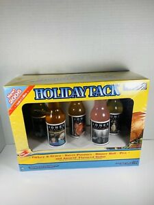 2006-Limited-Edition-Jones-Soda-Holiday-Pack-Thanksgiving-NEW-SEALED-Glass