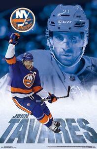 JOHN-TAVARES-NEW-YORK-ISLANDERS-POSTER-22x34-NHL-HOCKEY-16291
