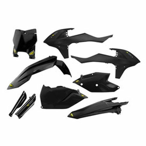 FITS KTM 300 350 450 XC XC-F SX-F Cycra Powerflow Plastic Body Kit Black