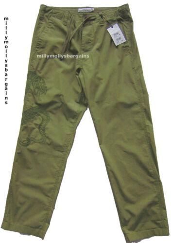 New Mens Green Wide Fit NEXT Trousers Waist 34 32 30 Long Regular Short RRP £38