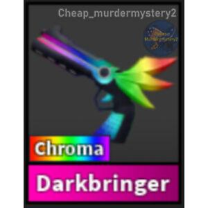 Murder Mystery 2 MM2 Chroma Darkbringer Roblox *FAST DELIVERY* Read Description