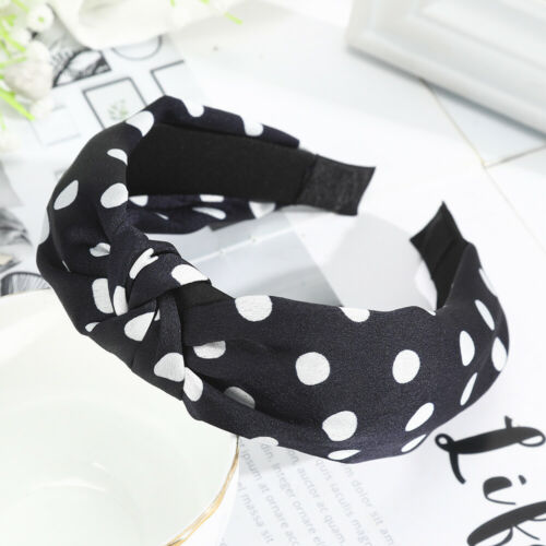 Headband Polka Dot Knotted Hair Band Hair hoops Women/'s Girls Hair Accessories