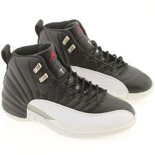 New Nike Air Jordan 12 XII OG Playoff Black white 136001-061 US sz 8.0