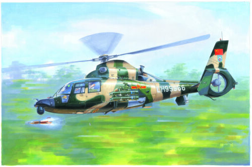 Neu Trumpeter 05109-1:35 Chinese Z-9WA Helicopter
