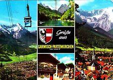 Garmisch-Partenkirchen , Ansichtskarte ; 1970 gelaufen