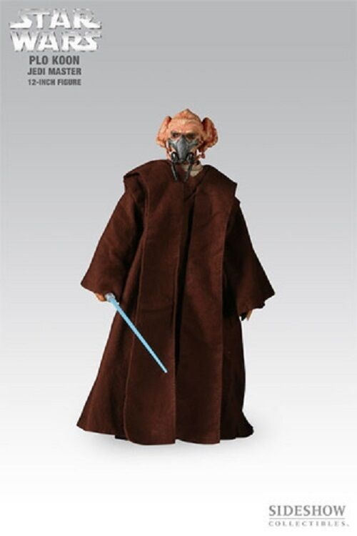 Star Wars Plo Koon 12-Inch Action Figure by Sideshow Collectibles Used