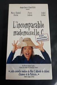 L-039-incomparable-Mademoiselle-C-2004-VHS-Quebec-French-OOP-Marie-chantal-Perron