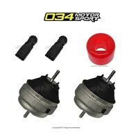 Audi S4 Set Of Left & Right Engine Mounts & Bypass Connectors 034 & Bushings on Sale