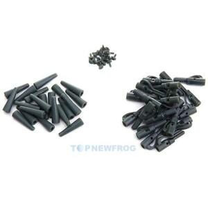 20-Sets-Safety-Lead-Clips-Carp-With-Pins-Rubber-Tubes-Fishing-Tackle-Accessories
