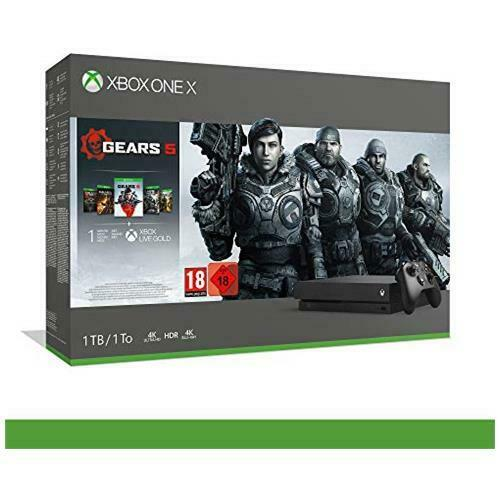 MICROSOFT Xbox One X - Bundle Gears of War 5