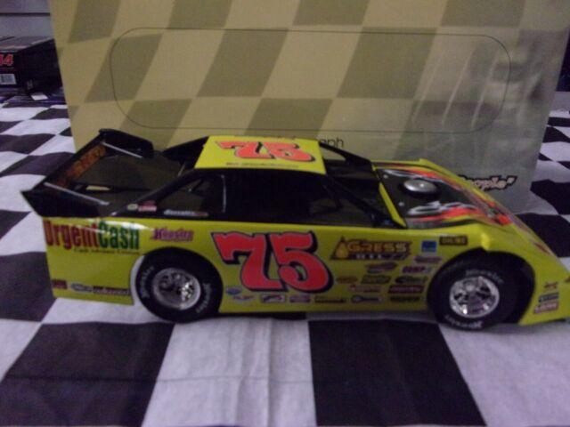 2004 #75 Bart Hartman #D204G284 1:24 Late Model Dirt Car ADC