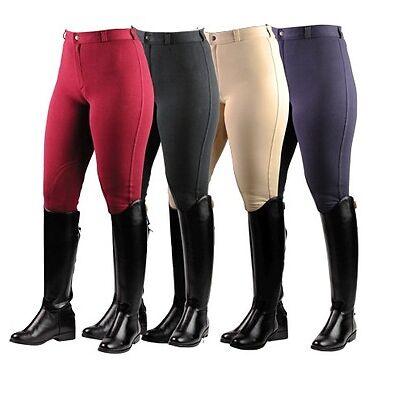 Adults Ladies Horse Riding Jodhpurs Bottoms/Pants **ALL COLOURS & SIZES**