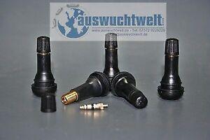 Gummiventile Reifenventile Autoventile TR 414 TR414 100 Stk Snap in