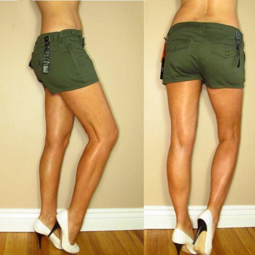 Low Joe's oliva Pantalone scuro Mini The 30 Pantaloncini Cotone color Verde 32 Rise militare dgxwEWPqH
