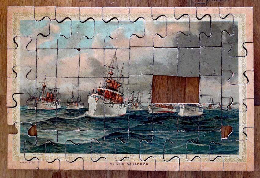1898, 1898, 1898, Manila, Dewey, guerra de las antigüedades. 33f