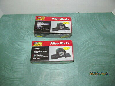 2-Bolt Oval Mount 2in. NorTrac Pillow Block