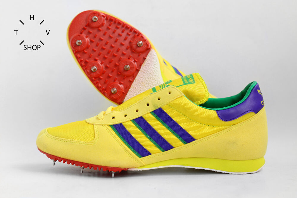 vtg ADIDAS WIN SPIKES SHOES TRACK FIELD SPRINTER Made in France TOKYO 70s 80s DS Cheap and beautiful fashion
